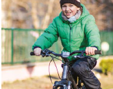 Cycle training for children has benefits in adolescence image