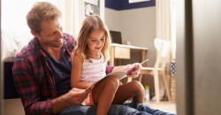 Children of more caring, less controlling parents live happier lives image