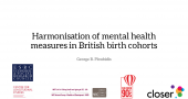 CLOSER Seminars: Mental health – Prof George Ploubidis, UCL image
