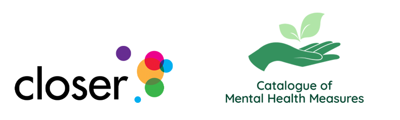 CLOSER and the Catalogue of Mental Health Measures logos